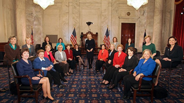 PHOTO: When the 113th Congress is sworn in it will have a record-breaking number of female Senators and Diane Sawyer gathered them for an exclusive conversation.