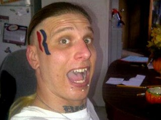 Man Gets Romney 'R' Tattooed on Face