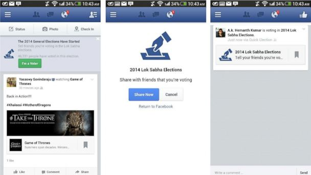 ht facebook vote sr 140520 16x9 608 What You Can Do With Facebooks Im a Voter Button
