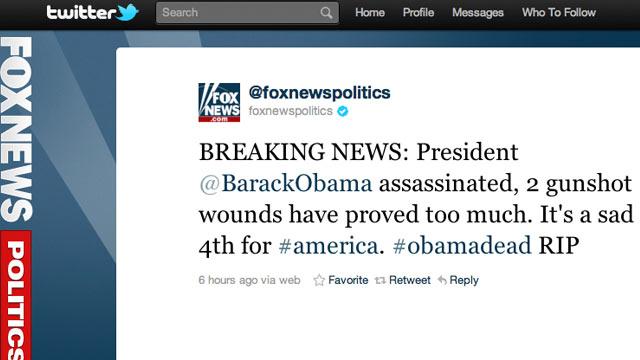 TechBytes: Fox News Twitter Account Hacked