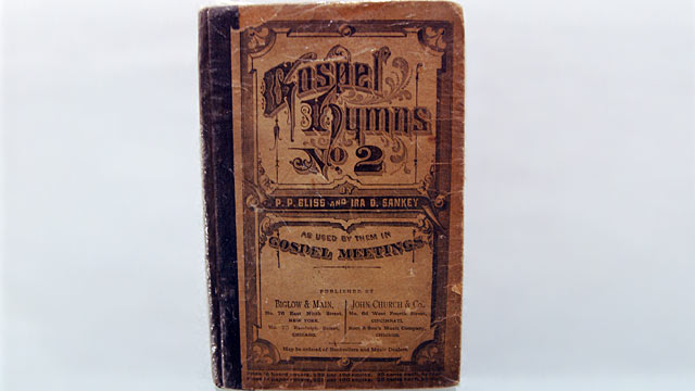 PHOTO: Harriet Tubman book of hymns