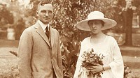Photo: Bess and Harry Truman's wedding picture.