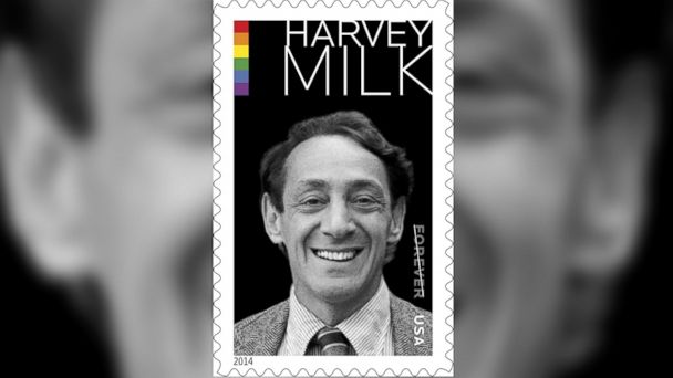 ht harvey milk stamp jc 140522 16x9 608 Gay Rights Activist Harvey Milk Honored With Postage Stamp
