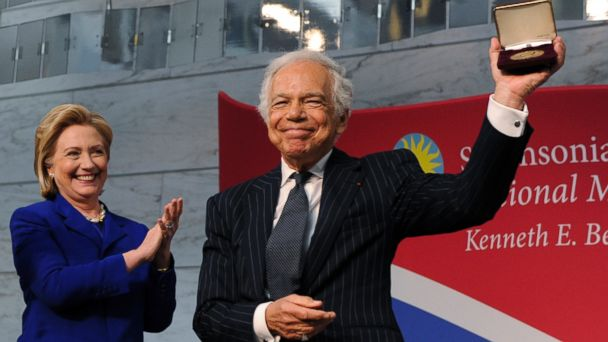 ht hillary clinton ralph lauren jc 140617 16x9 608 Hillary Clinton Highlights Accomplishment as First Lady at Smithsonian Ceremony