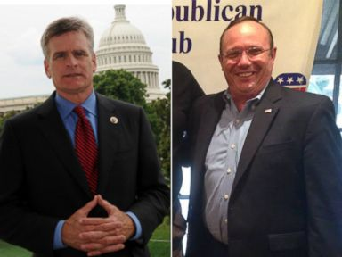 PHOTO: Rep. Bill Cassidy, left, is seen in this undated photo from his Congressional website while Rob Maness, left, is seen in this undated photo from his official Facebook page.