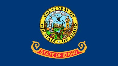 PHOTO: Idaho State Flag