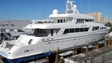PHOTO: Jeff Greene Yacht