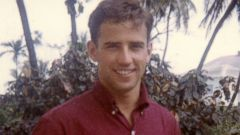 PHOTO: Joe Biden is pictured, circa 1968, in a photo that shared by his official account on Twitter in 2014.