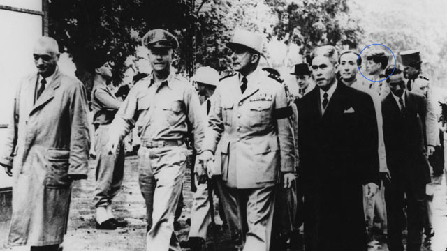 PHOTO: As a young congressman, John F. Kennedy traveled to Vietnam in 1951, as the French were beginning to exit the country.