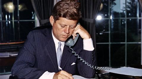 ht john f kennedy telephone ll 120921 wblog Nightline Daily Line, Sept. 24: JFK Tapes