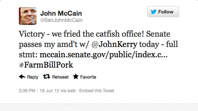 PHOTO: John McCain tweet