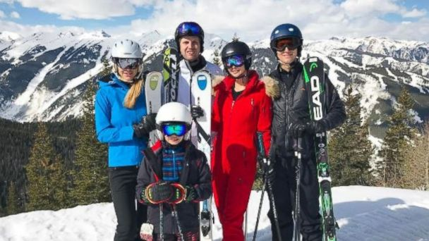 PHOTO: Lara Trump (far left) posted this photo of herself with husband Eric Trump, Ivanka Trump, Jared Kushner, and Donald III, in Aspen, Colorado on March 21, 2017.