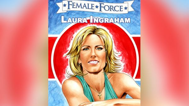 ht laura ingraham comic ll 131203 16x9 608 Conservative Firebrand Laura Ingraham Gets the Comic Book Treatment