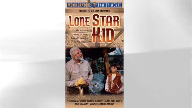PHOTO: The Lone Star Kid, movie poster is seen here.