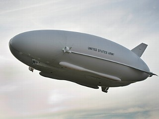 Army's Blimp Takes to the Skies