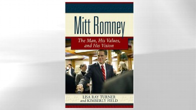 PHOTO:The cover for the book &quot;Mitt Romney: The Man, His Values, and His Vision&quot; is shown.
