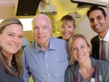 John McCain completes first round of radiation, chemotherapy treatment