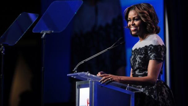 ht michelle obama sr 140314 16x9 608 Dannon, Del Monte Partner With First Ladys Health Initiative