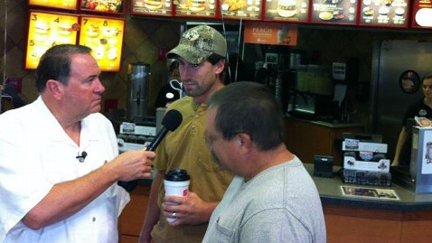 ht mike huckabee chick fil a appreciation day ll 120801 wblog Nightline Daily Line, Aug. 1: Chick Fil A Fans Flock for Appreciation Day