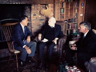 Billy Graham Offers Prayer for Romney