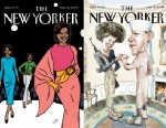 The New Yorker covers of Michelle Obama