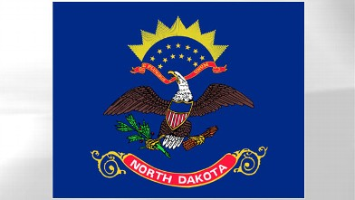 PHOTO: North Dakota State Flag