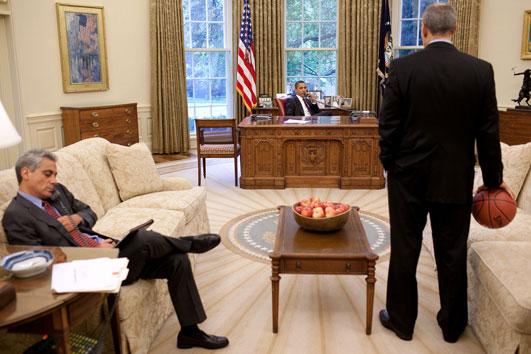 Barack Obama Behind the Scenes