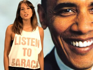 Obama Girl Returns, Kind Of