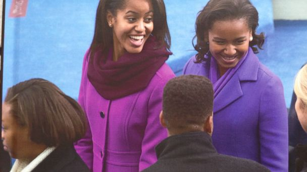 ht obama girls kb 140102 16x9 608 Obama Family Holiday Package Snafu Surprise for Illinois Woman
