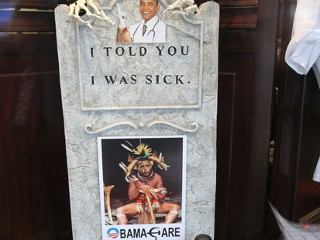 Obama Witch Doctor to Stay, Creator Vows