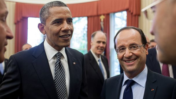 ht obama kab 140210 16x9 608 Bizarre Love Triangle Adds Awkward Twist To French State Visit