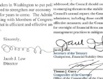 PHOTO: The signature of Jack Lew has changed during his tenure as Secretary of the Treasury.