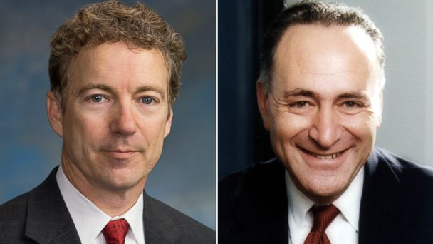ht rand paul charles schumer ll 140103 16x9 608 Coming Up on This Week: Sen. Rand Paul and Sen. Charles Schumer