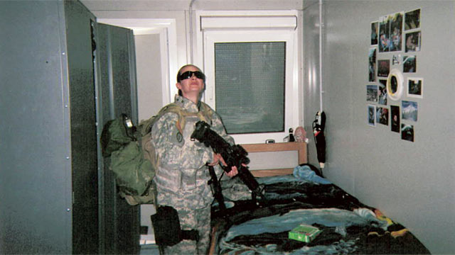 PHOTO: Sgt. Sarah Adams, 28, served in Iraq from January 2007-September 2007.
