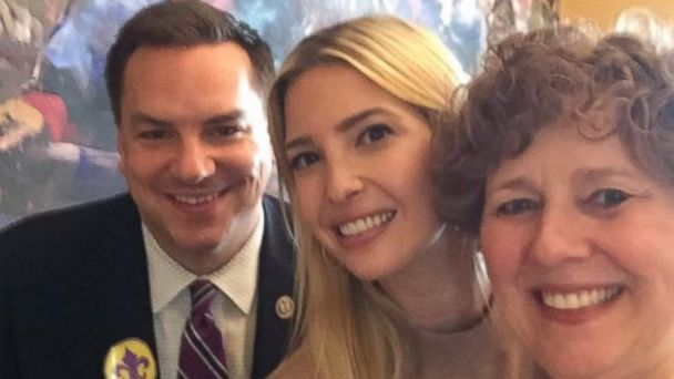 PHOTO: Rep. Richard Hudson tweeted this selfie with Ivanka Trump and Rep. Susan Brooks on June 21, 2017, to honor National Selfie Day.