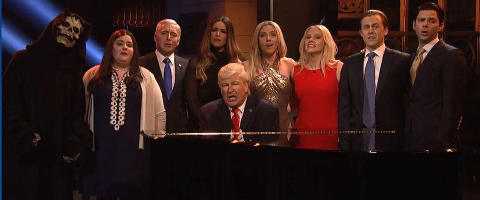 Alec Baldwin, Scarlett Johansson reprise Trump roles on ...
