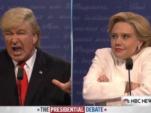 'SNL' Spoofs Trump, Clinton in 3rd Presidential Debate