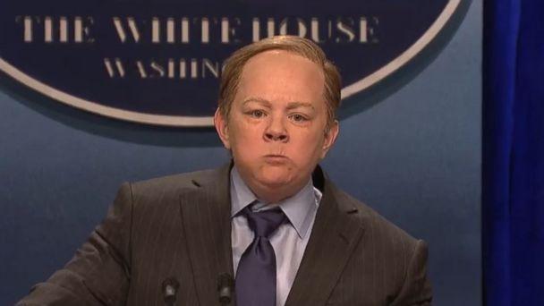 PHOTO: Melissa McCarthy as White House press secretary Sean Spicer on