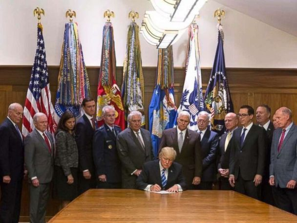 Trump signs bill authorizing war on terror memorial