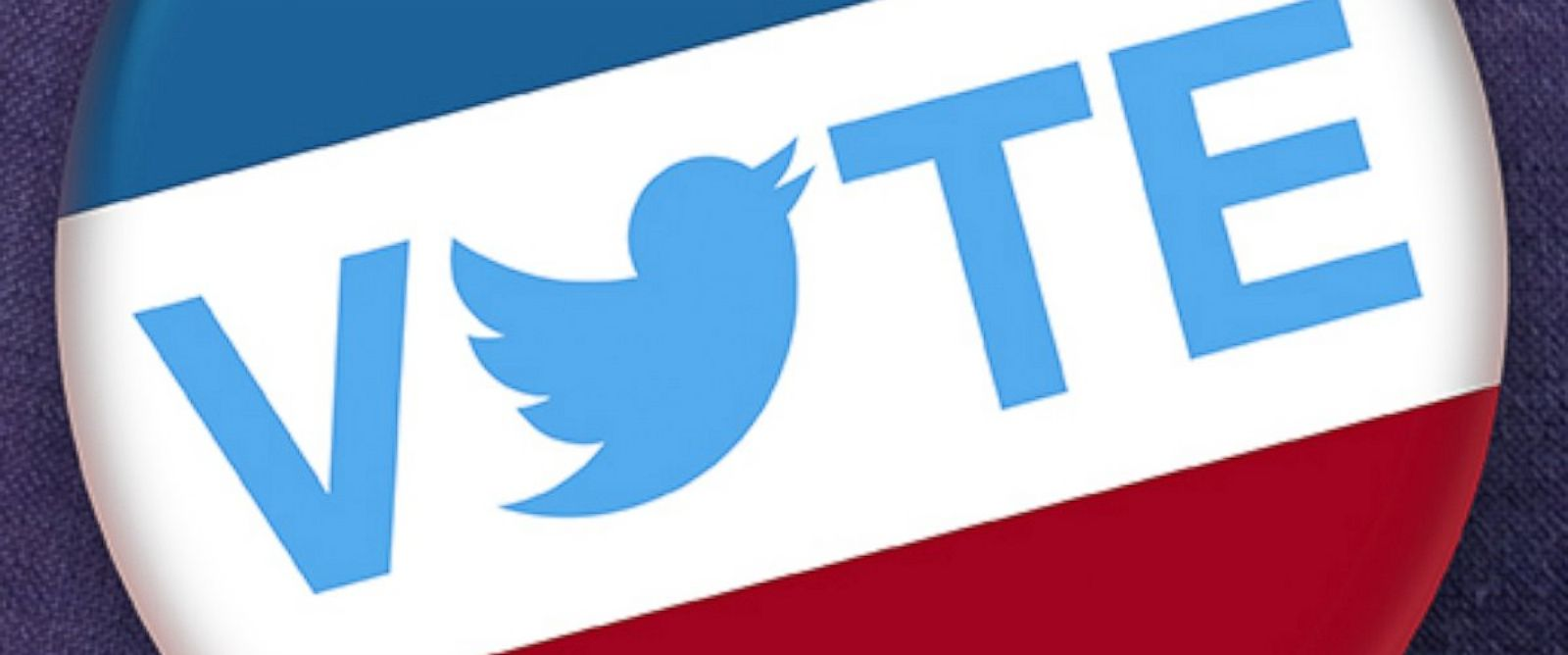 PHOTO: The Twitter Vote logo is seen on Election Day, Nov. 4, 2014.