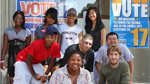 PHOTO: Students from United Teen Equality Center