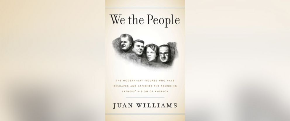 """PHOTO: The book jacket for Juan Williams """"We the People."""""""