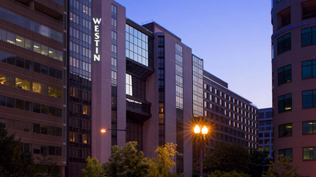 PHOTO: Westin Hotel, formerly Vista International Hotel, in Washington, D.C.