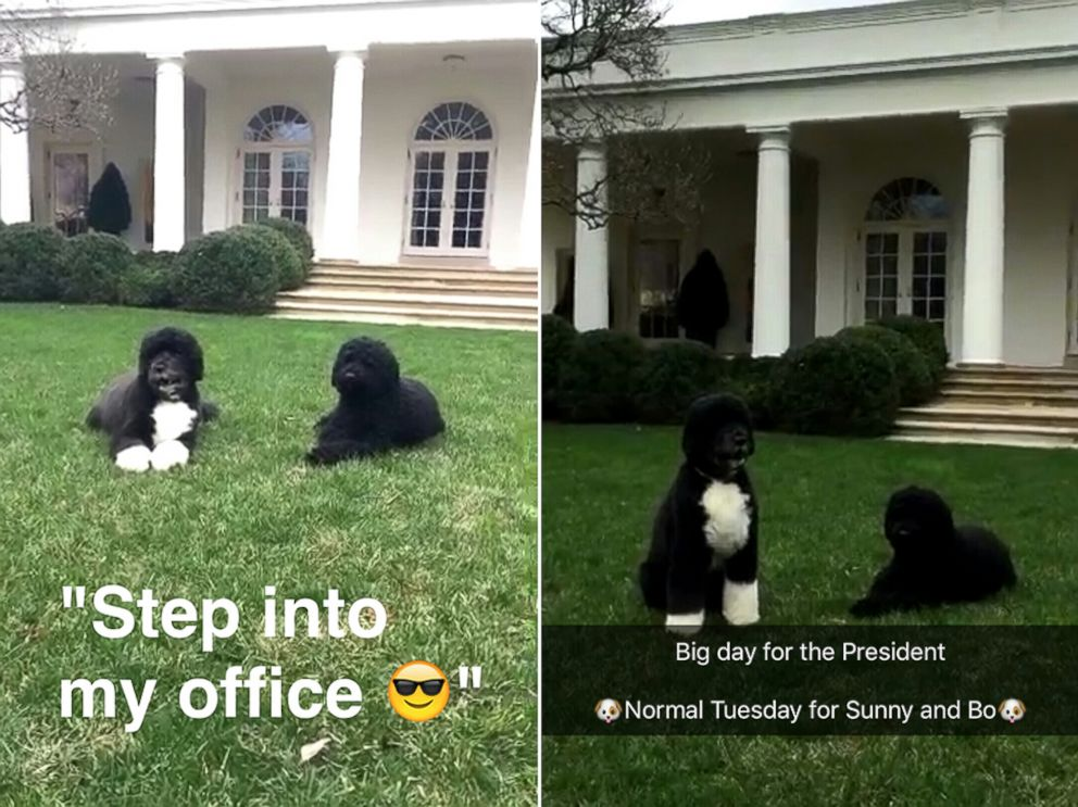 PHOTO: White House Launches Snapchat Account.