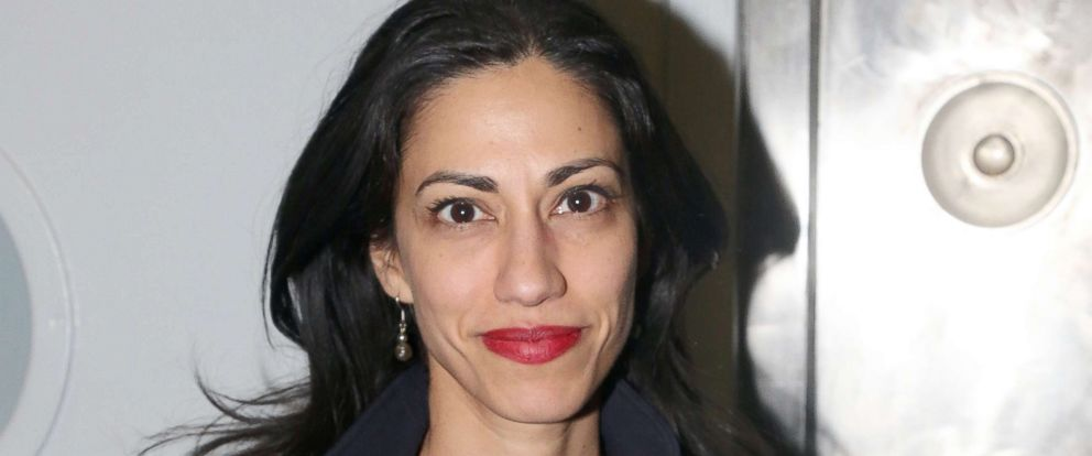 "PHOTO: Huma Abedin poses at ""An American Daughter"" Benefit Reading at The Tony Kiser Second Stage Theatre, May 8, 2017 in New York City."