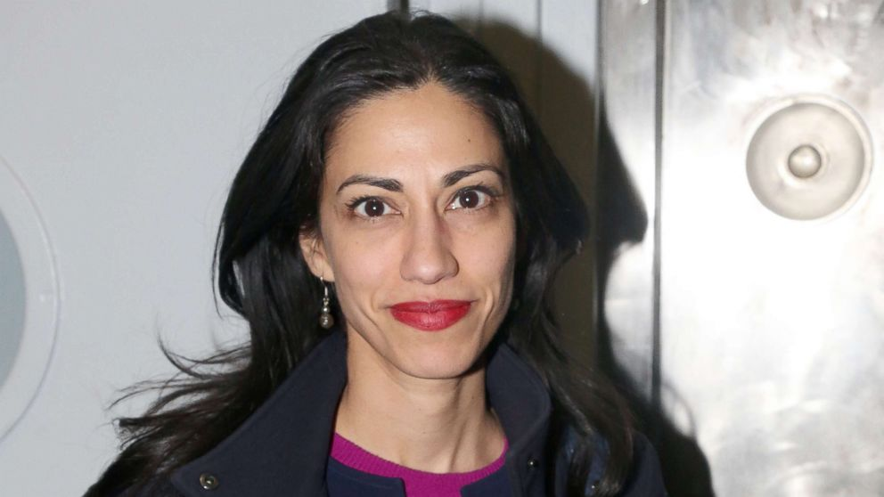 Trump goes after former Clinton aide Huma Abedin in tweet