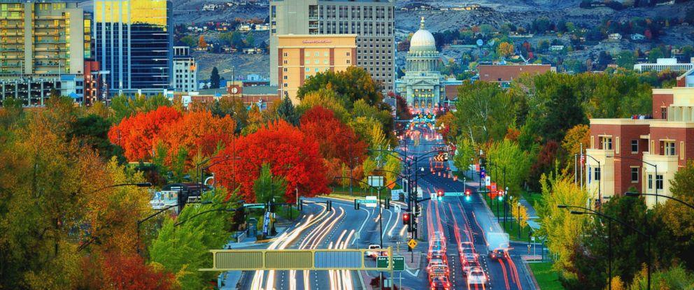 PHOTO: Idaho is the fastest growing state population, U.S. Census Bureau estimates.