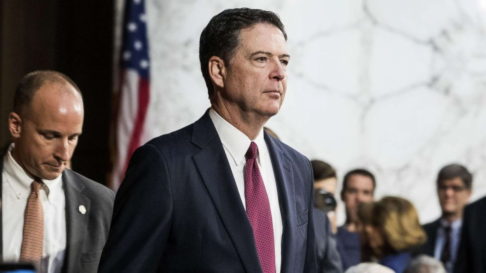 Former FBI Director James Comey's book title revealed: 'A Higher Loyalty'