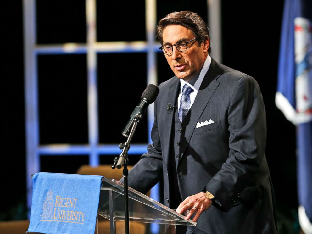 PHOTO: Jay Sekulow speaks at Regent University in Virginia Beach, Va., Oct. 23, 2015.