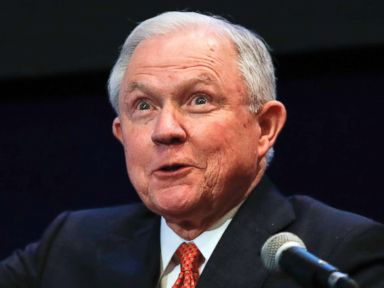 Sessions jokes of Russian ambassador from site of scrutinized 2016 speech